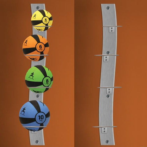Prism Wall Mounted Medicine Ball Rack - Storage