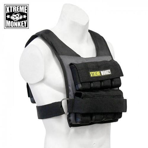 Xtreme Monkey 55 lbs Adjustable Weighted Vest - Weighted Resistance