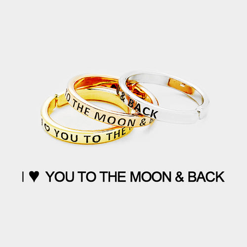 Love You to The Moon & Back 3pc