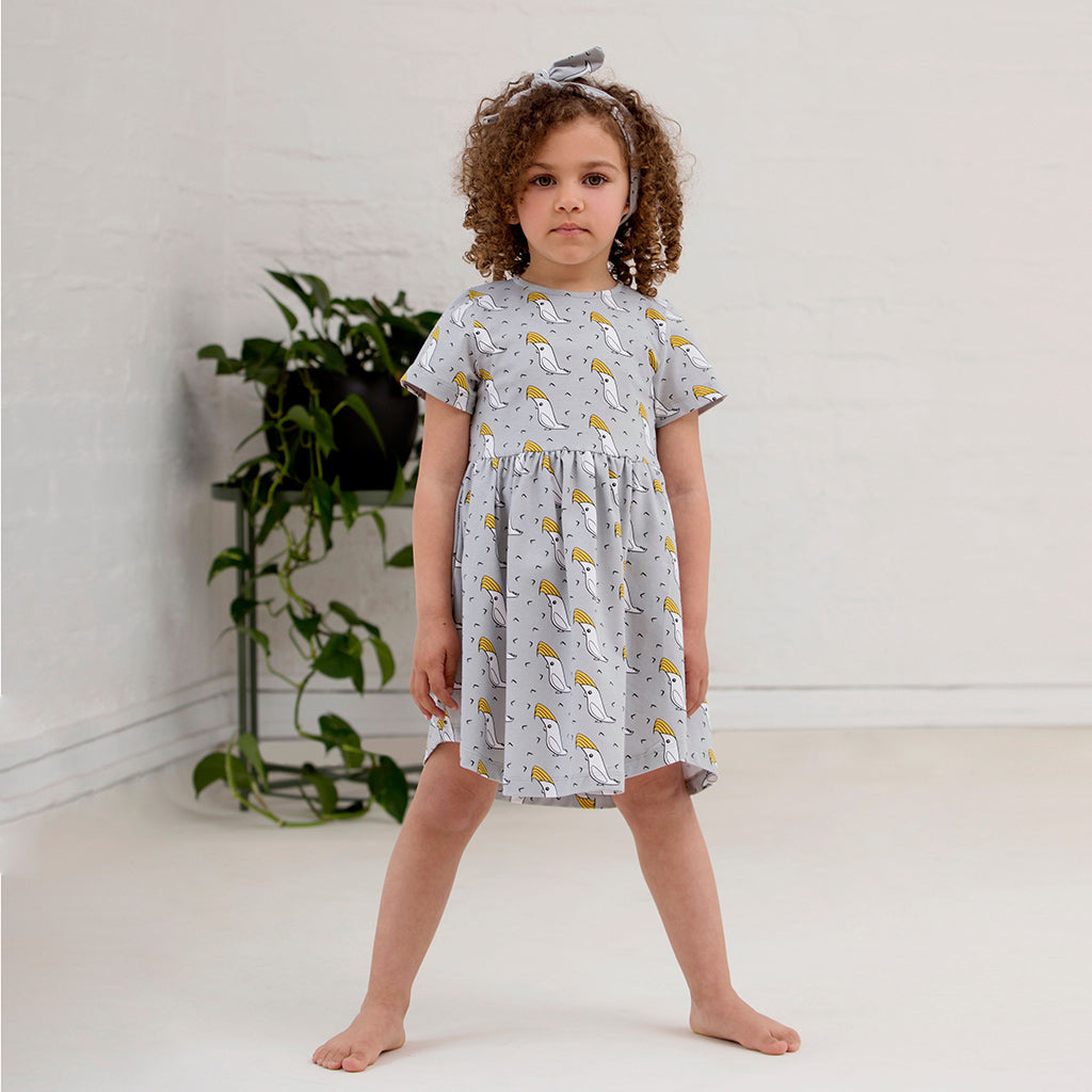 Henrietta Cockatoo Dress