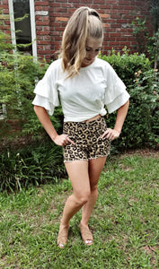 All About Leopard Shorts