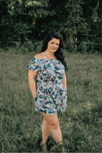 Plus Size Lovely in Floral Romper
