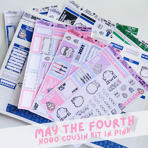 Pink May the Fourth Hobo Cousin Kit