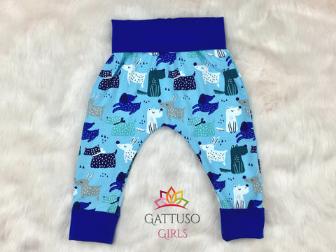 Grow With Me Pants ~ Dogs