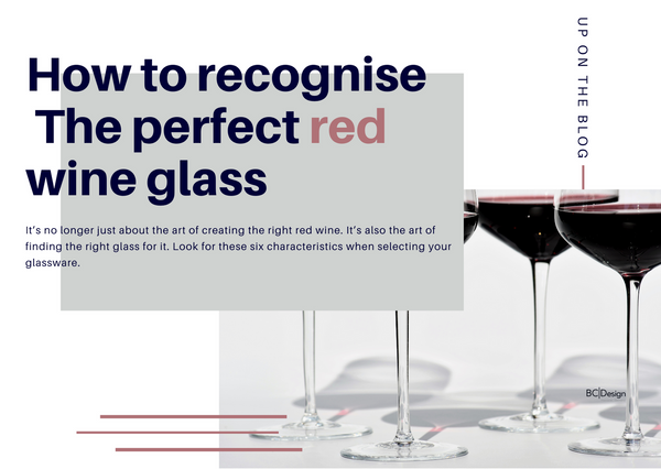How to select the right red wine glass