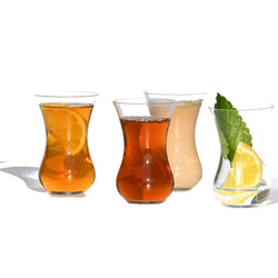 Tea Glass Crystal, Set of 4 | Teeglas, Kristall 4er Set