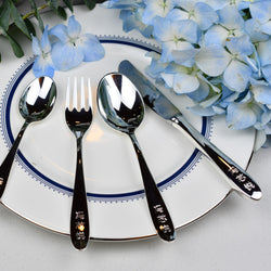 Silverplated Kids Cutlery Set | Versilbert Kinderbesteck