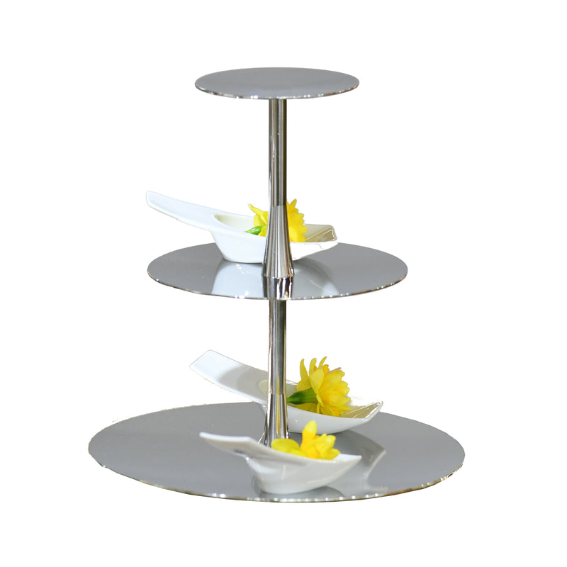 Cake Stand Design Pure- exclusive silver plated |  Etagere Design Pure- stark versilbert