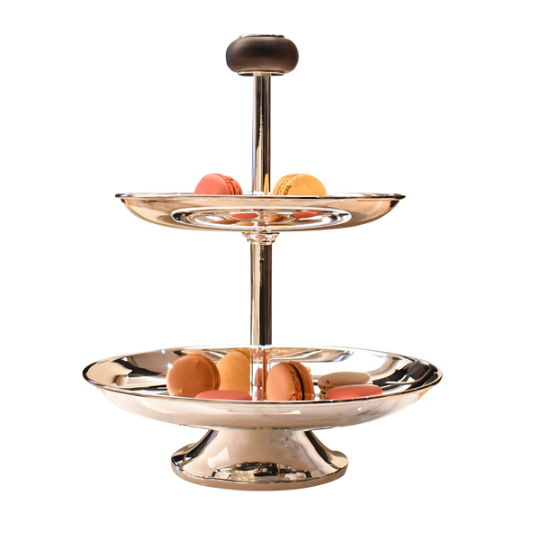 Exclusive Silverplated Cake Stand | 2 Layers
