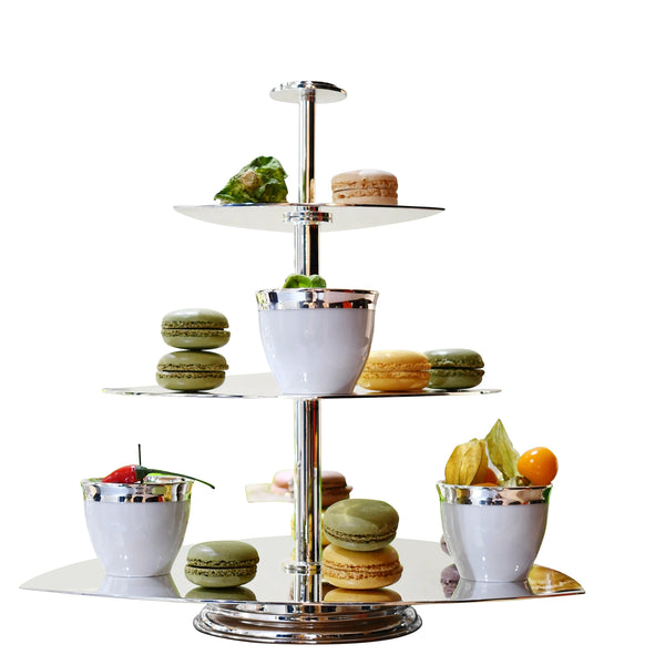 Exclusive Silverplated Cake Stand | 3 Layers