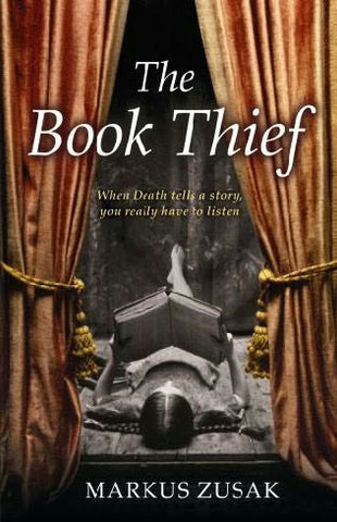 Cover of 'The Book Thief' by Mark Zusak - photo courtesy of http://www.fantasticfiction.co.uk/