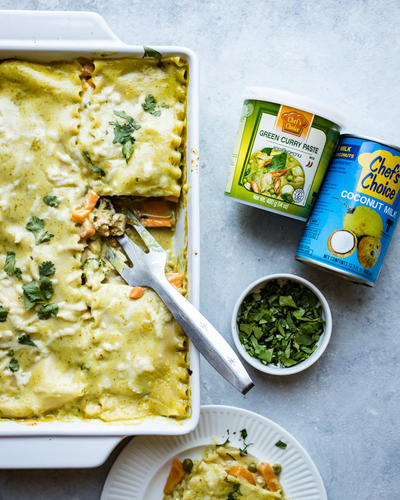 Recipe Ideas: Green Curry Lasagna