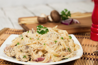 Recipe Ideas: Vegan Fettuccine Carbonara