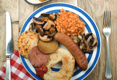 Recipe Ideas: Big Vegan Full English Breakfast