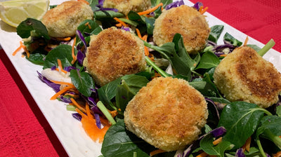 Recipe Ideas: Lemon Pepper Vegan Tuna Patties