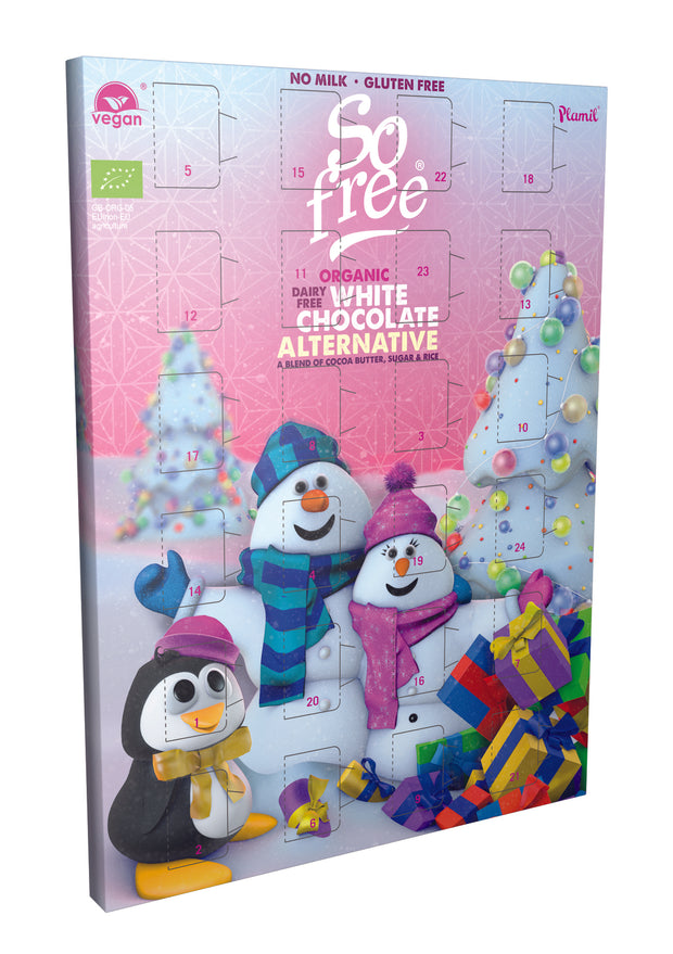 White Choc Advent Cal - So Free - vegan-perfection-retail