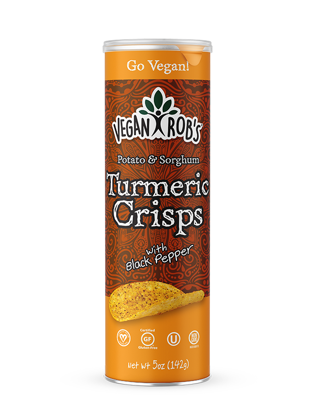 Turmeric & Black Pepper Crisps,Vegan Rob's,vegan-perfection-retail