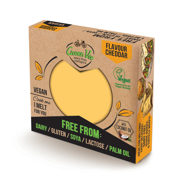 Cheddar Block REGULAR - Green Vie - vegan-perfection-retail