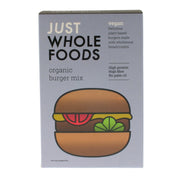 Organic Burger Mix - Just Wholefoods - vegan-perfection-retail