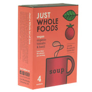 Organic Tomato & Basil Soup Mix - Just Wholefoods - vegan-perfection-retail