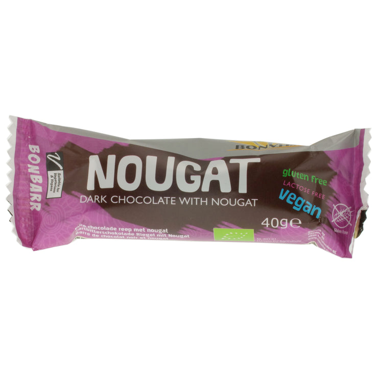 Nougat Chocolate Bar - Bonvita - vegan-perfection-retail