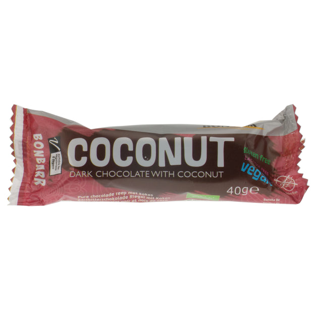 Coconut Chocolate Bar - Bonvita - vegan-perfection-retail