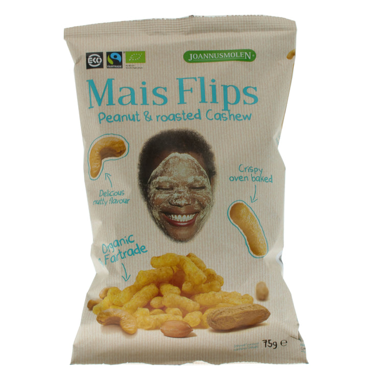 Corn Peanut Mais Flips - Joannusmolen - vegan-perfection-retail
