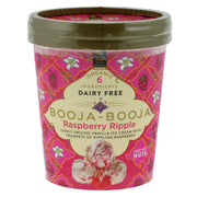 Organic Raspberry Ripple Ice Cream - Booja Booja - vegan-perfection-retail