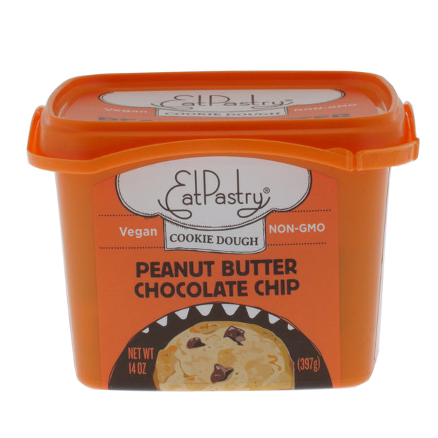 Peanut Butter Chocolate Chip Cookie Dough - Eat Pastry - vegan-perfection-retail