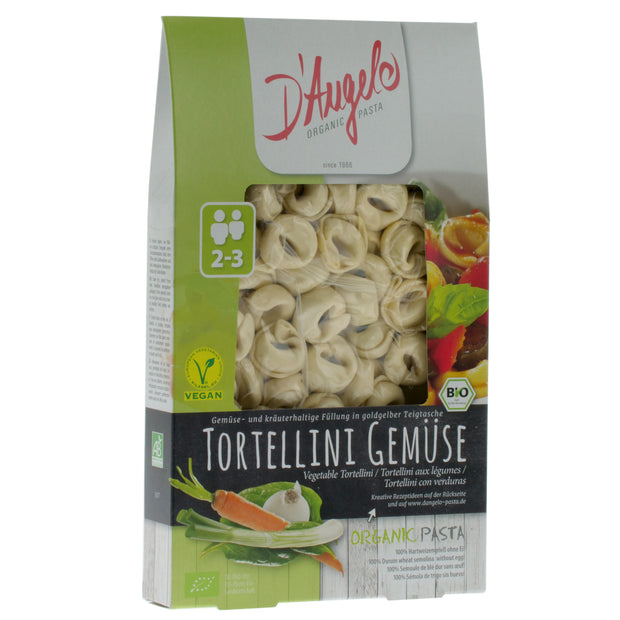 Organic Mixed Vegetable Tortellini