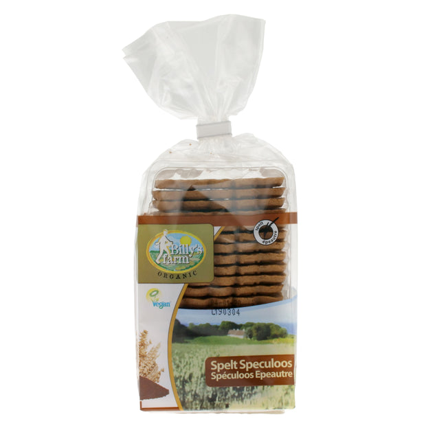 Spelt Speculoos Biscuits - Billy's Farm - vegan-perfection-retail