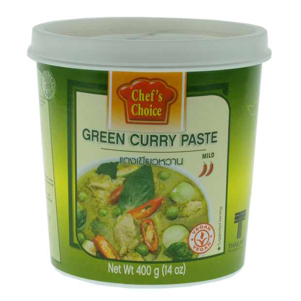 Green Curry Paste - Chef's Choice Thailand - vegan-perfection-retail