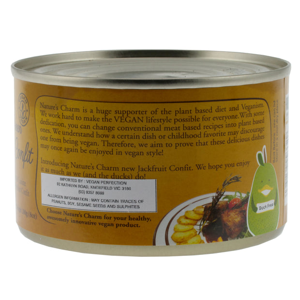 Small Can Jackfruit Confit - Nature's Charm - vegan-perfection-retail
