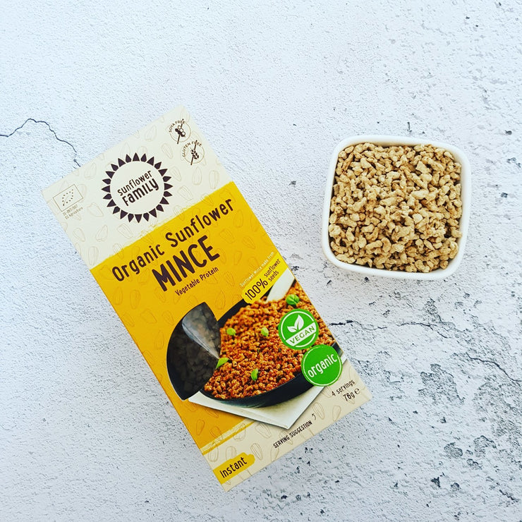 Organic Sunflower Mince - Sunflower Family - vegan-perfection-retail