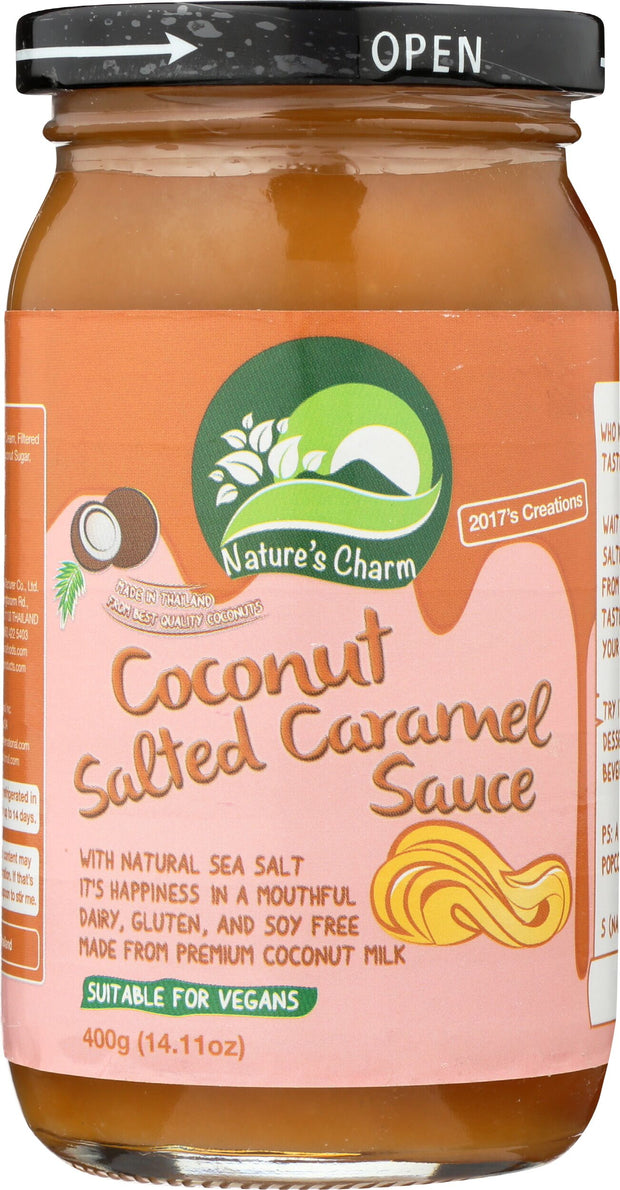 Coconut Salted Caramel Sauce,Nature's Charm,vegan-perfection-retail