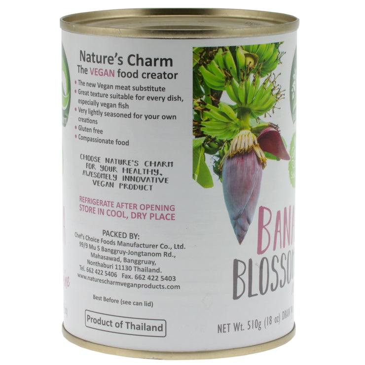 Banana Blossom in Brine - Nature's Charm - vegan-perfection-retail