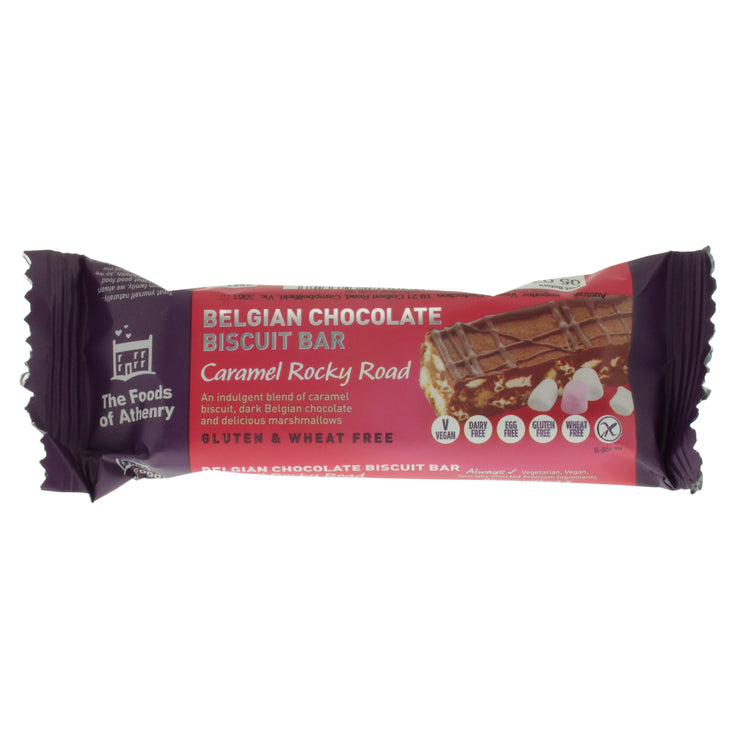 Caramel Rocky Road Bar - The Foods of Athenry - vegan-perfection-retail