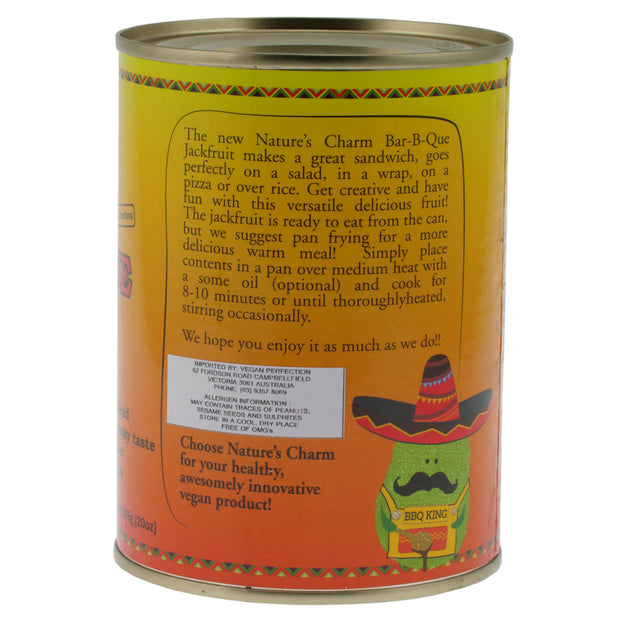 Large Can BBQ Jackfruit - Nature's Charm - vegan-perfection-retail
