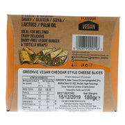 Cheddar Slices REGULAR - Green Vie - vegan-perfection-retail