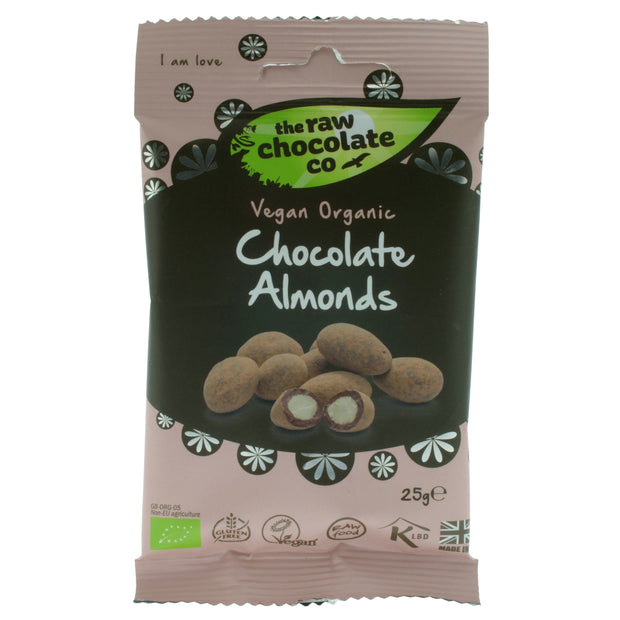 Chocolate Coated Almonds - The Raw Chocolate Company - vegan-perfection-retail