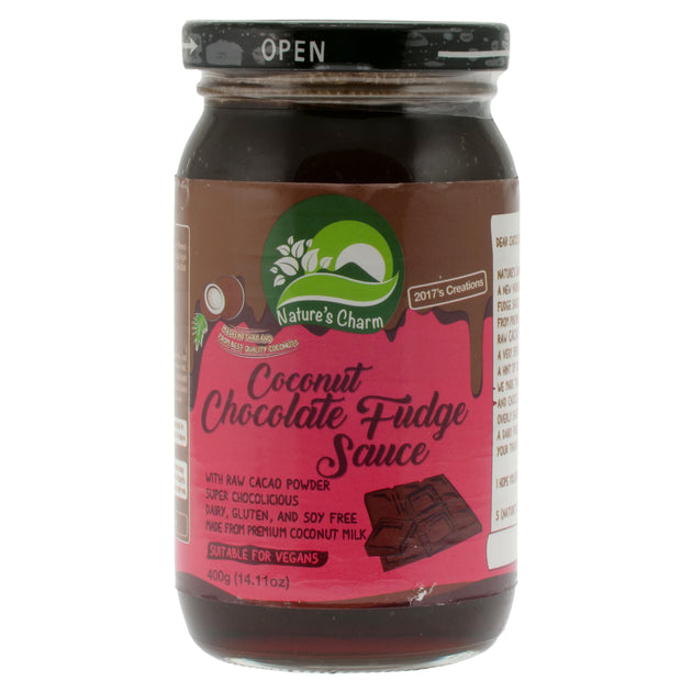 Chocolate Fudge Sauce - Nature's Charm - vegan-perfection-retail