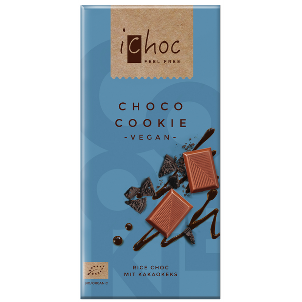 Choco Cookie Chocolate - iChoc - vegan-perfection-retail