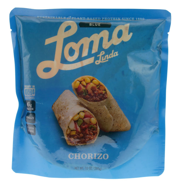 Vegan Chorizo Pouch - Loma Linda - vegan-perfection-retail