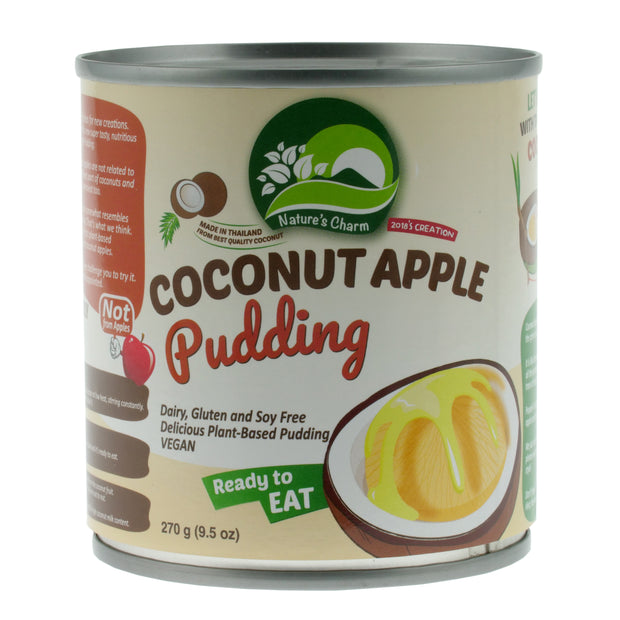 Coconut Apple Pudding - Nature's Charm - vegan-perfection-retail