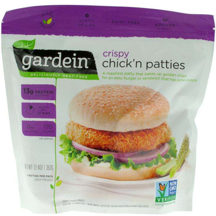 Crispy Chick'n Patties - Gardein - vegan-perfection-retail