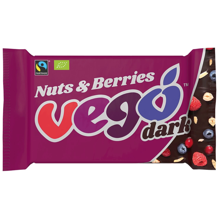 Dark Choc With Nuts & Berries - Vego - vegan-perfection-retail