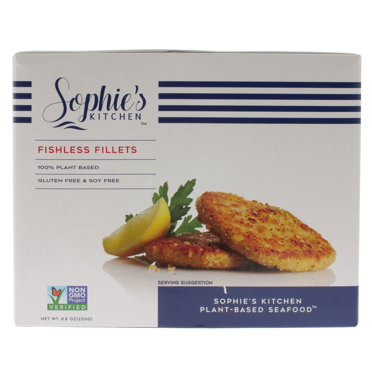 Sophie's Vegan Fishless Fillets - Sophie's Kitchen - vegan-perfection-retail