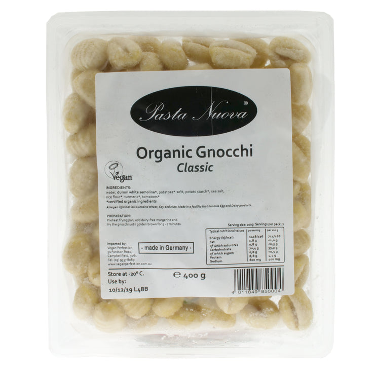 Organic Gnocchi 'Classic' - Pasta Nuova - vegan-perfection-retail