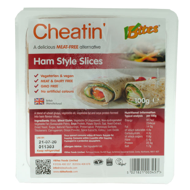 Cheatin' Ham-style Slices - Redwood/V-Bites - vegan-perfection-retail