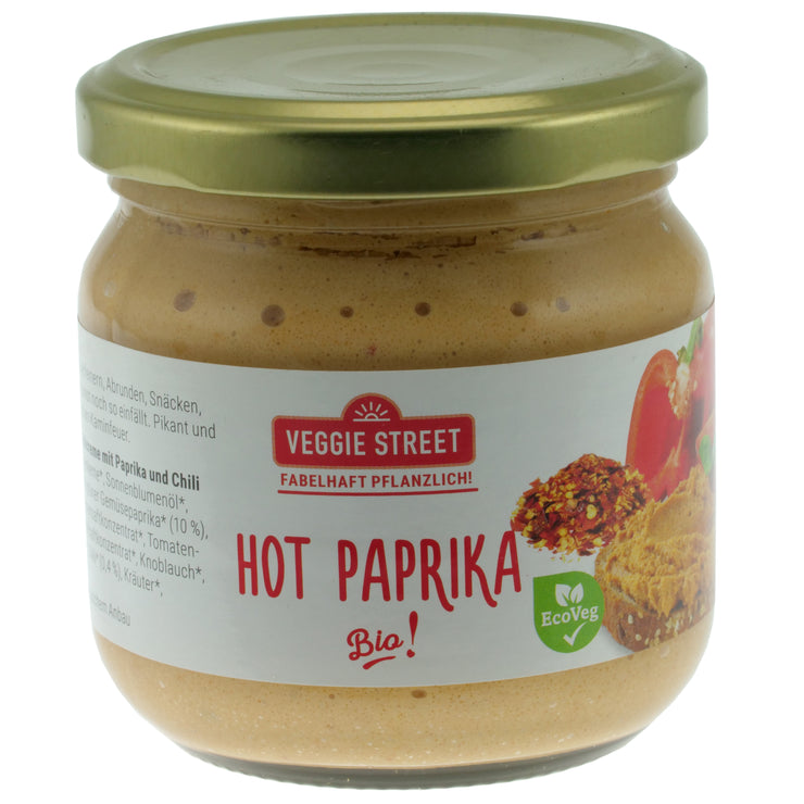 Hot Paprika Spread - Veggie Street Spreads - vegan-perfection-retail